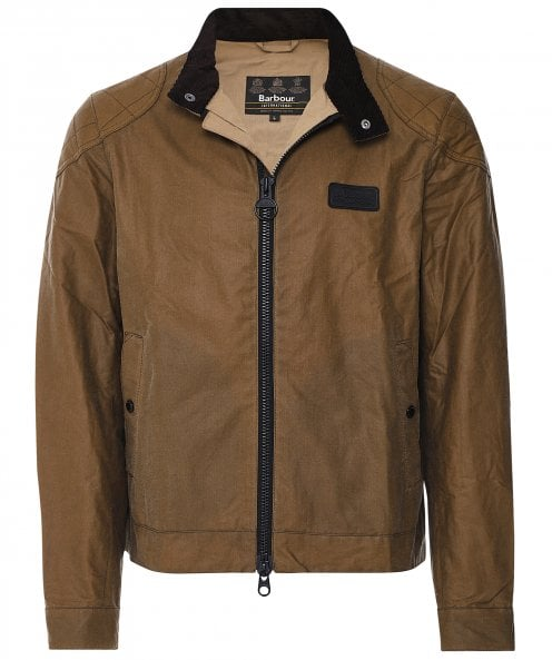 Barbour International Waxed Stove Jacket