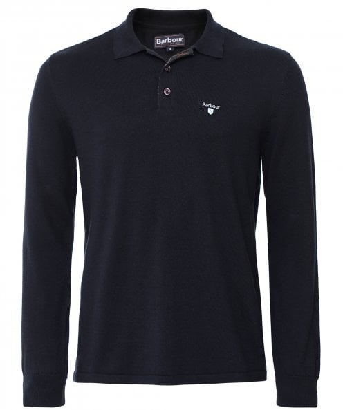 Barbour Long Sleeve Essential Polo Shirt