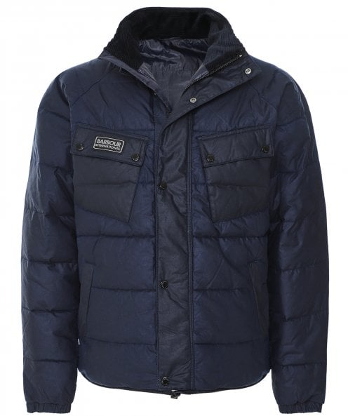 Barbour International Wax Quilted Transmission Hoxton Jacket