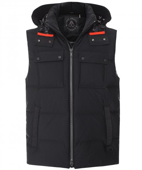 Moose Knuckles Down Quilted Hooded Percival Gilet