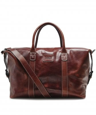 Leather Balmoral Weekend Bag