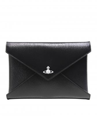 Grained Leather Bella Pouch