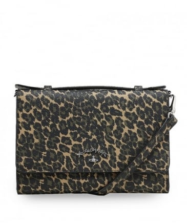 Leopard Print iPhone Wallet