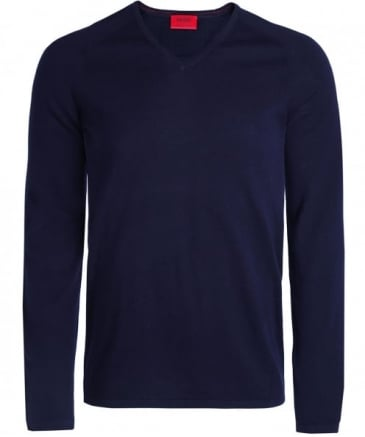 Silk Blend V-Neck San Jose Jumper