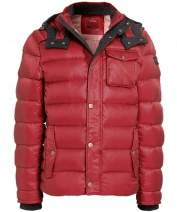James Hooded Down Jacket
