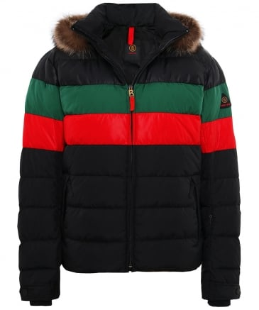 Fur Trim Lars3-D Down Jacket