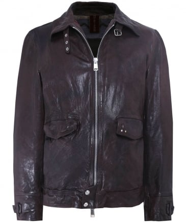 Leather Onda Jacket
