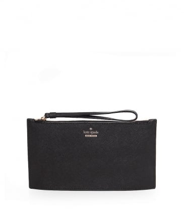 Crosshatch Leather Ariah Wristlet