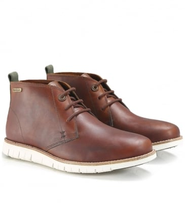 Leather Burghley Chukka Boots