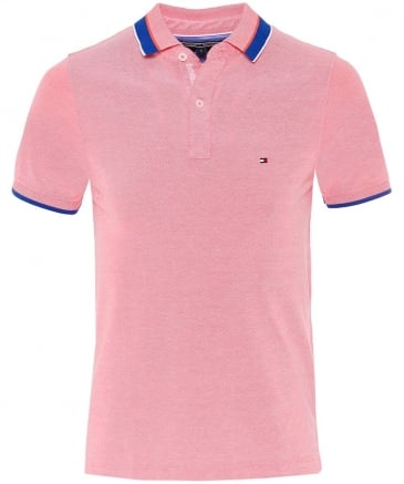 Slim Fit Oxford Cotton Polo Shirt