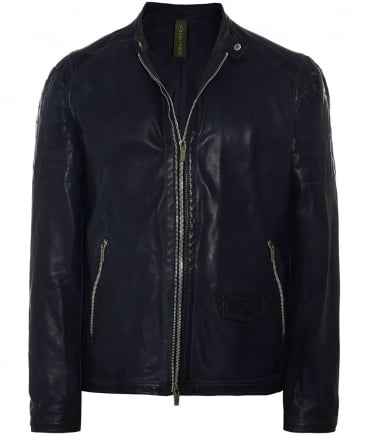 Leather T 307 Biker Jacket