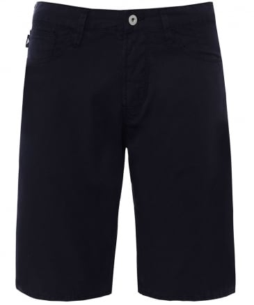Twill Cotton Bermuda Shorts