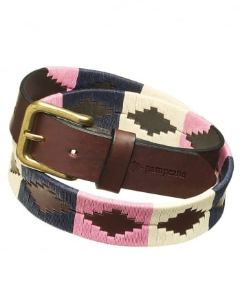 Leather Dulce Polo Belt