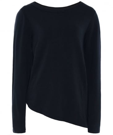 Asymmetric Long Sleeve T-Shirt