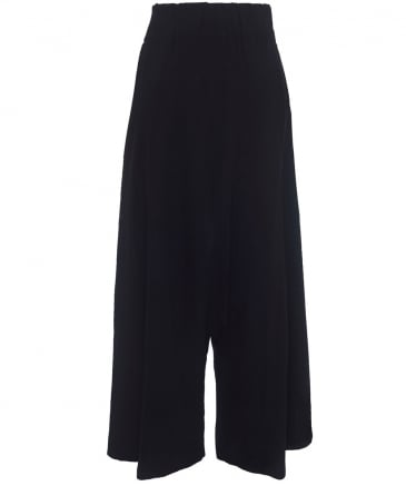 Wide Leg Harem Trousers