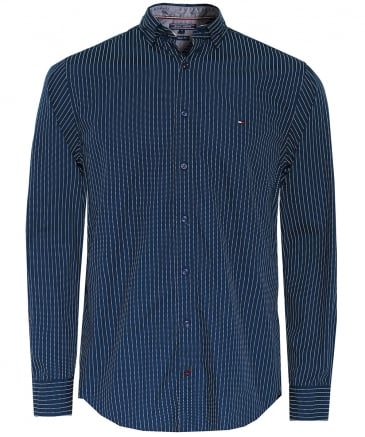 Regular Fit Pinstripe Shirt