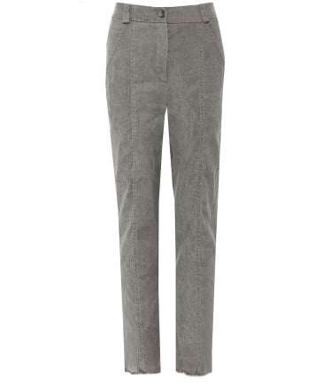 Cropped Stick Trousers