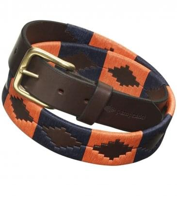 Leather Audaz Polo Belt