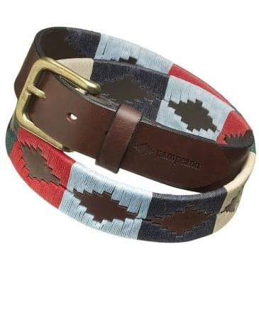 Leather Multi Polo Belt