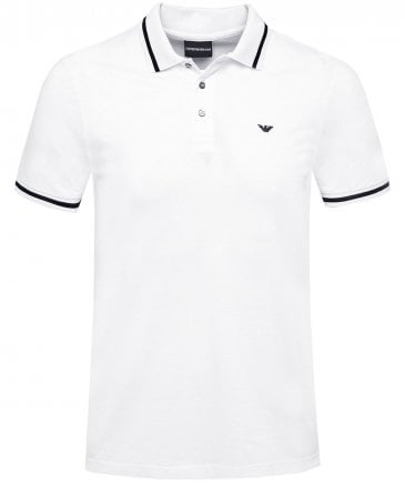 Contrast Tipped Polo Shirt