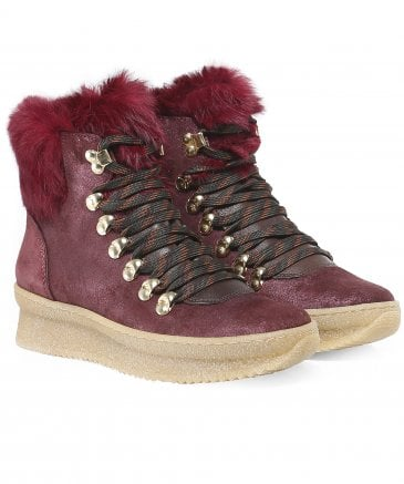 Kanna Women's Suede Naysa Boots
