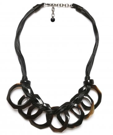 Zen Women's Horn Effect Chain Necklace