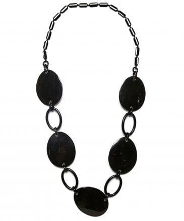 Zen Women's Circle Chain Drop Necklace