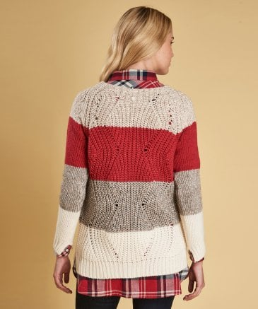 Barbour Women's Wool Blend Padstow Knitted Jumper