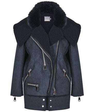 Urbancode Women's Faux Shearling Avalon Coat