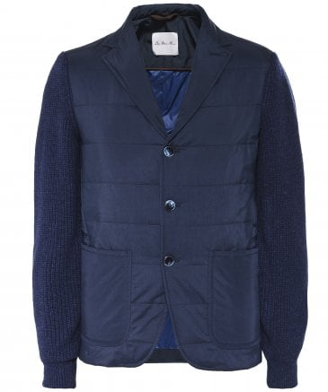 Quilted Body Blazer