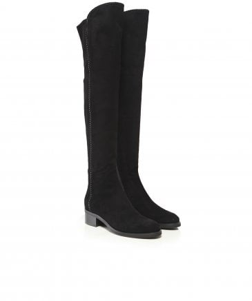 Le Pepe Women's Suede Knee High Boots