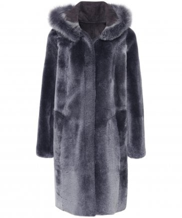 Dom Goor Women's Chamnay Swing Reversible Coat