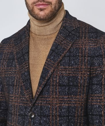 Circolo 1901 Men's Check Jacket