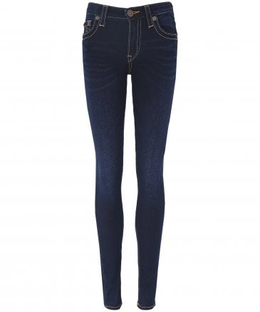 True Religion Women's Halle High Rise Super Skinny Jeans