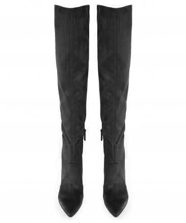 Kendall and Kylie Women's Faux Suede Zanna Knee High Boots