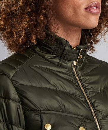 Barbour International Women's Gleann Quilted Jacket