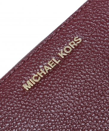 Michael Kors Women's Mercer Pebble Phone Wristlet