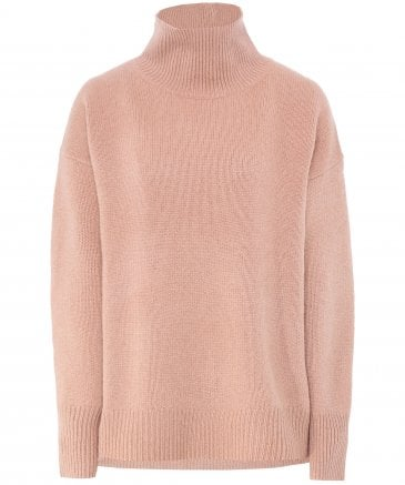 360 Sweater Women's Cashmere Valeria Funnel Neck Jumper