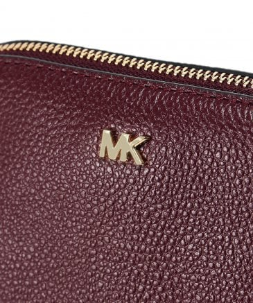 Michael Kors Women's Pebbled Leather Travel Pouch Trio