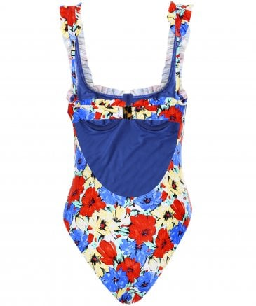 RIXO Women's Valentina Floral Swimsuit