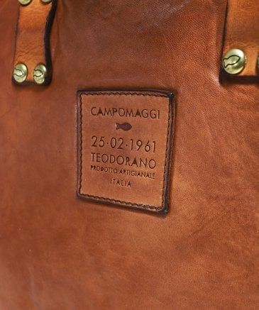 Campamaggi Men's Leather Professional Shoulder Bag