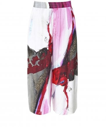 Printed Culotte Trousers