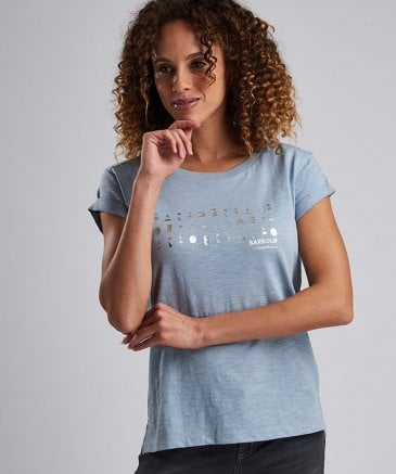 Barbour International Women's Backline Logo T-Shirt