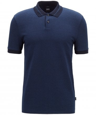 BOSS Men's Slim Fit Phillipson 47 Polo Shirt