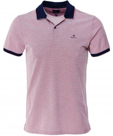 Gant Men's Oxford Pique Rugger Polo Shirt