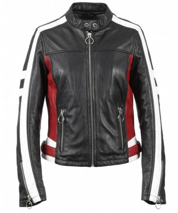 Oakwood Women's Gigi Leather Biker Jacket
