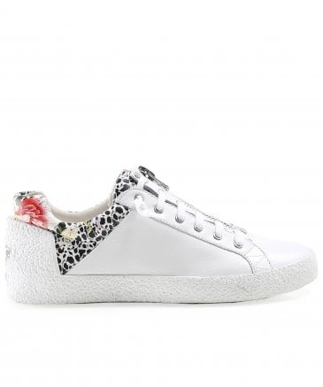 Ash Women's Leather Nirvana Printed Zip Front Trainers