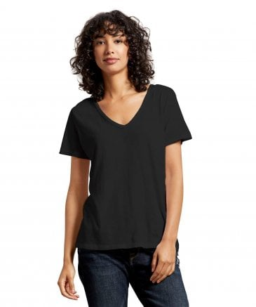 Michael Stars Women's Skyler Relaxed V-Neck T-Shirt