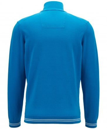 BOSS Men's Half-Zip Zimex Jumper