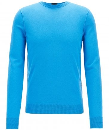 BOSS Men's Slim Fit Kwasiros Crew Neck Jumper